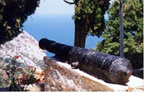 Kastro cannons -