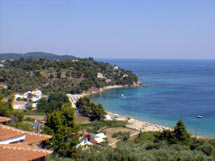 VILLA LEONI  HOTELS IN  Troulos SKIATHOS SPORADES ISLANDS